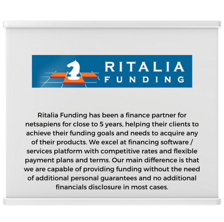 Ritalia Funding Expo Booth