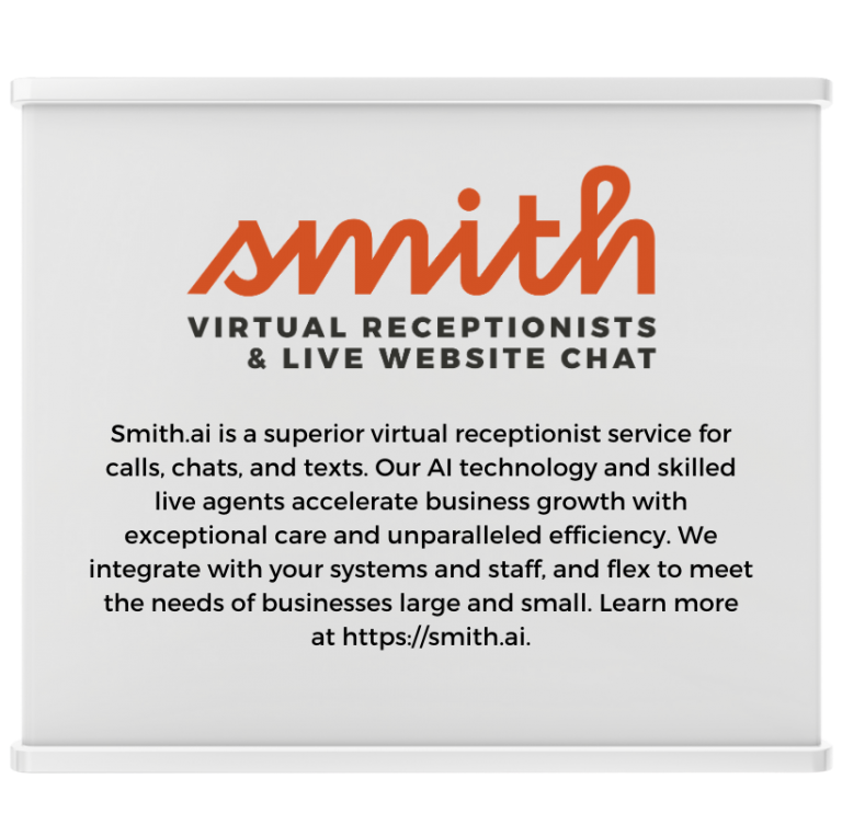 smith.ai Expo Booth