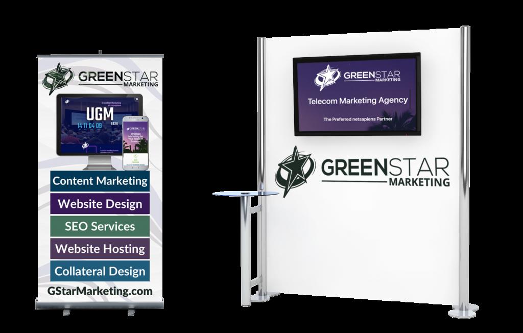 GreenStar Marketing Virtual UGM Booth